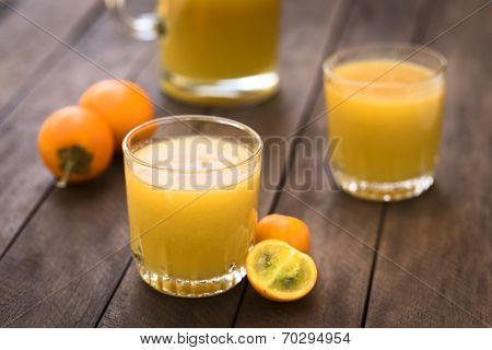Naranjilla or Lulo Juice