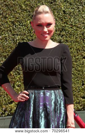 LOS ANGELES - AUG 16:  Claire Grant at the 2014 Creative Emmy Awards - Arrivals at Nokia Theater on August 16, 2014 in Los Angeles, CA