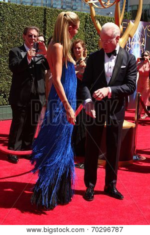 LOS ANGELES - AUG 16:  Tim Gunn at the 2014 Creative Emmy Awards - Arrivals at Nokia Theater on August 16, 2014 in Los Angeles, CA