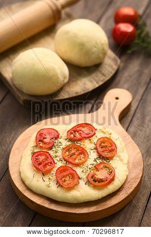 Tomato Flatbread