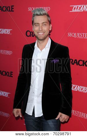 LOS ANGELES - AUG 14:  Lance  Bass at the Crackle Presents the Premieres of