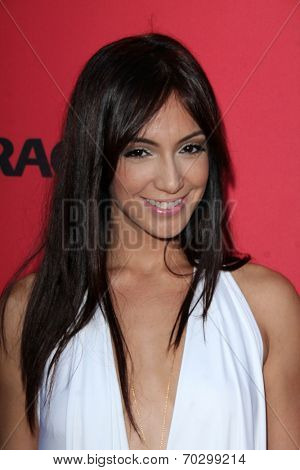 LOS ANGELES - AUG 14:  Laura Aleman at the Crackle Presents the Premieres of