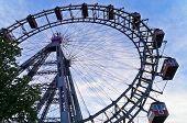 pic of wieners  - Viennese giant wheel called Wiener Riesenrad built in 1897 - JPG