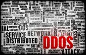 DDOS Distributed Denial of Service Attack Alert poster