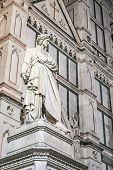 Постер, плакат: Dante Statue In Florence