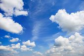 pic of wispy  - Cloudy sky - JPG