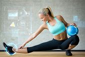 stock photo of smiling  - fitness - JPG