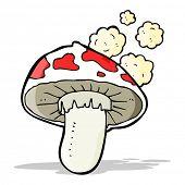 picture of toadstools  - cartoon toadstool - JPG