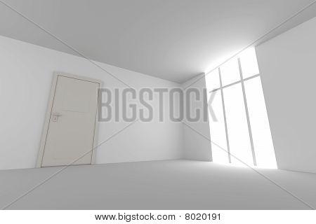 Door In an Empty Room