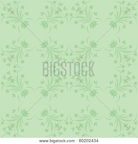 Seamless ornament vector pattern for disign