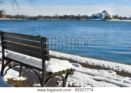 Washington DC in Winter - Thomas Jefferson Memorial