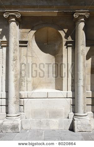 Georgian style building exterior