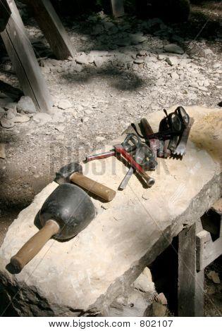 A mason's tools