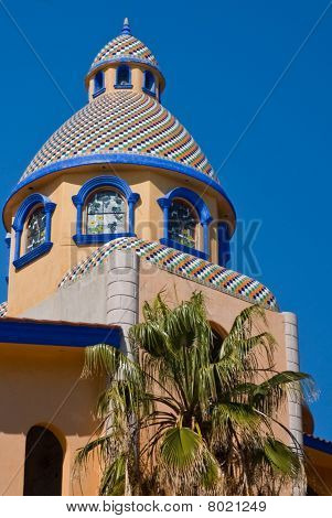 Mexican Tiled Dome