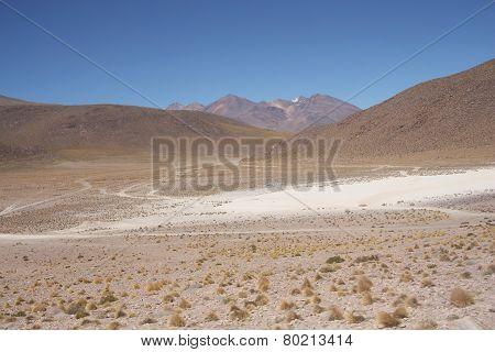 Atacama desert in Bolivia