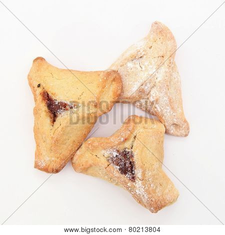 Traditional Jewish holiday food - Purim Hamantaschen