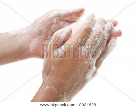 Soap In Hand