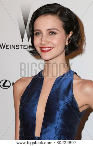 LOS ANGELES - JAN 11:  Julia Goldani Telles at the The Weinstein Company / Netflix Golden Globes After Party at a Beverly Hilton Adjacent on January 11, 2015 in Beverly Hills, CA