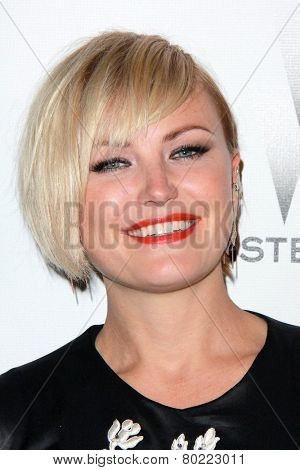 LOS ANGELES - JAN 11:  Malin Akerman at the The Weinstein Company / Netflix Golden Globes After Party at a Beverly Hilton Adjacent on January 11, 2015 in Beverly Hills, CA