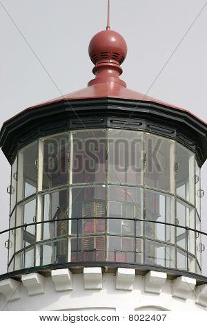 Fresnel Lens At Umpqua River Lighthouse