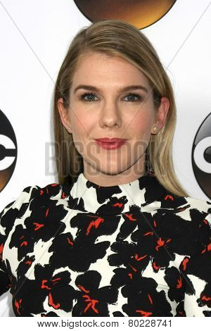 LOS ANGELES - JAN 14:  Lily Rabe at the ABC TCA Winter 2015 at a The Langham Huntington Hotel on January 14, 2015 in Pasadena, CA