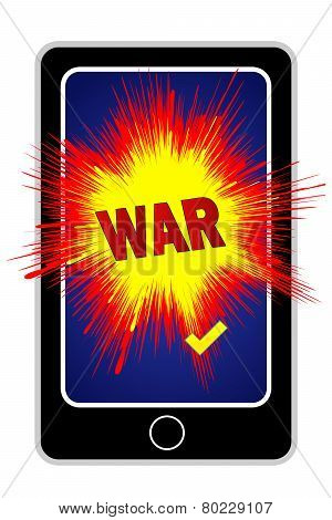 Cyberwar With Smartphone