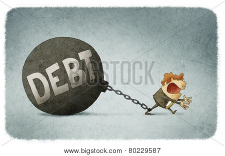 chained to his debts