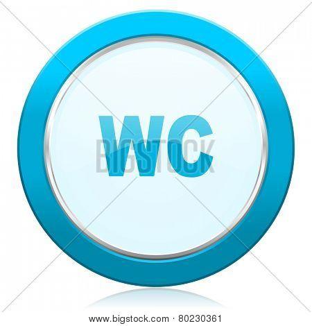 toilet icon wc sign