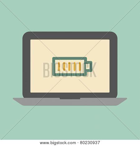 Laptop battery concept