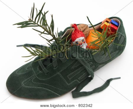 Xmas shoe filled by Nicholas 1