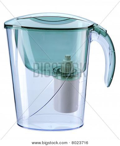 Jug With The Water-purifying Filter