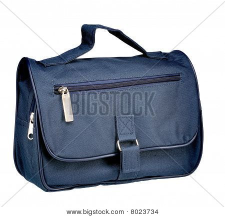 Blue Black Hand Bag