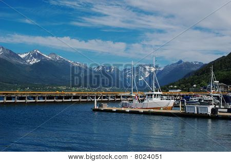 Andalsnes Harbour (Norway)