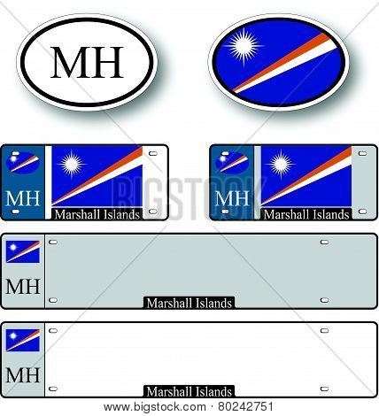 Marshall Islands Auto Set