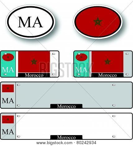 Morocco Auto Set