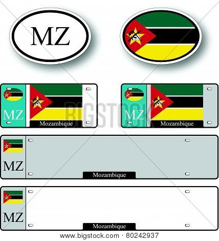 Mozambique Auto Set