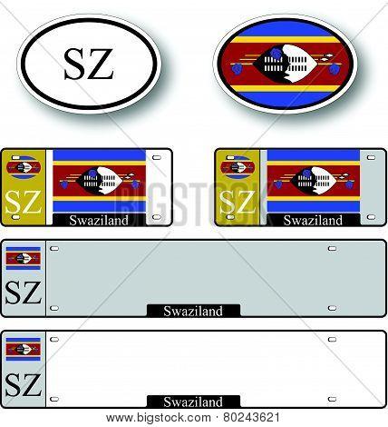 Swaziland Auto Set