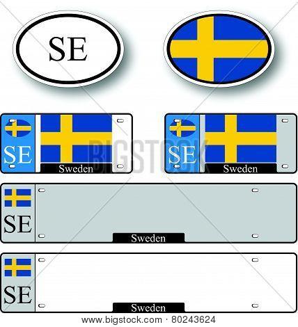 Sweden Auto Set