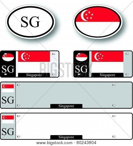 Singapore Auto Set