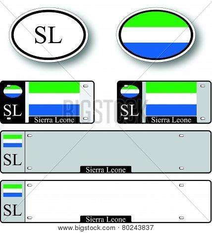 Sierra Leone Auto Set