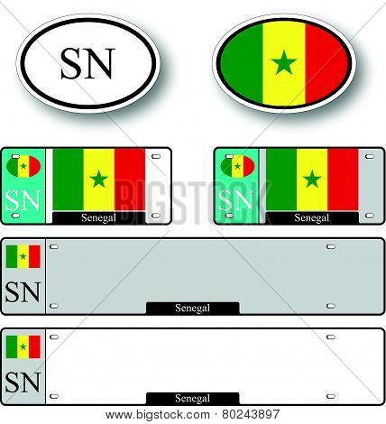 Senegal Auto Set