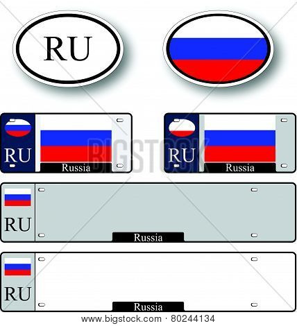 Russian Federation Auto Set