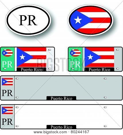 Puerto Rico Auto Set