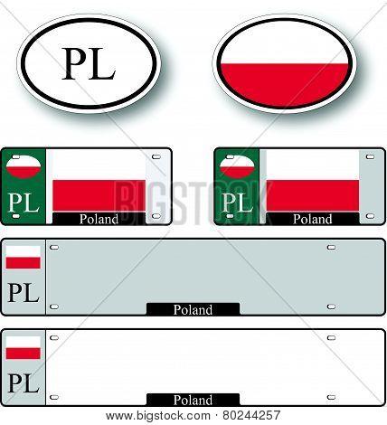 Poland Auto Set