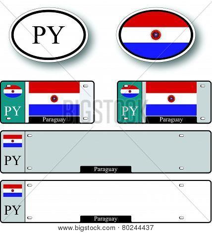Paraguay Auto Set