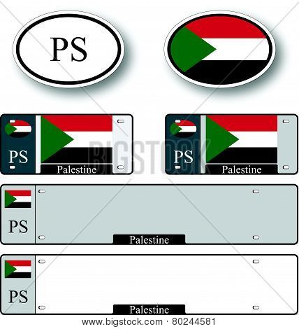Palestine Auto Set
