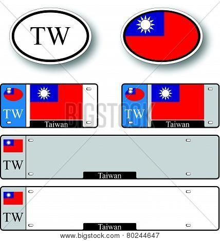 Taiwan Auto Set