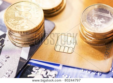 Smart Card And Coins