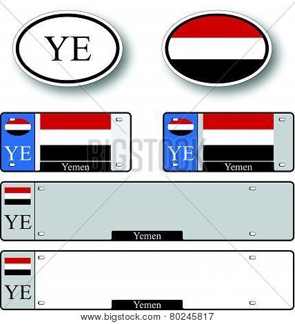 Yemen Auto Set