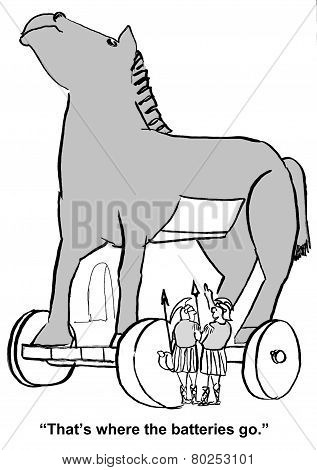 Trojan Horse Trickery